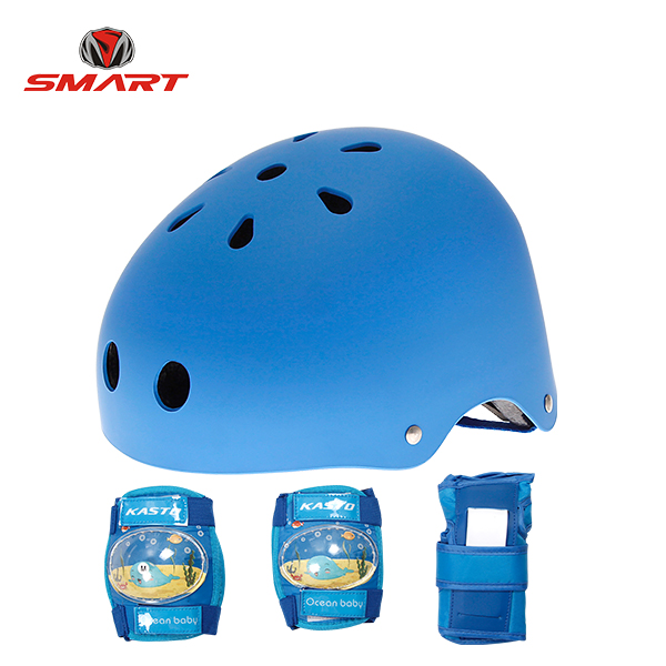 skates helmet & pads combo set 02